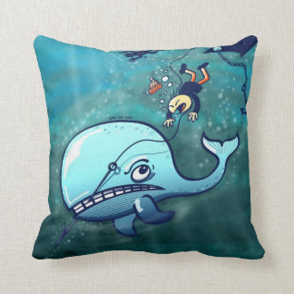 Whales are Furious! Pillows