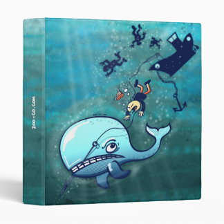 Whales are Furious! Vinyl Binders