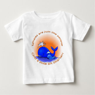Whales Are Like People Products Baby T-Shirt