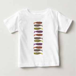 Whales Baby T-Shirt