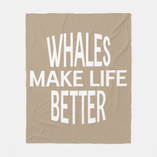 Whales Better Blanket - Assorted Sizes & Colors