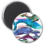 Whales, Dolphins & Porpoises Magnet
