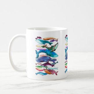 Whales, Dolphins & Porpoises Classic White Coffee Mug