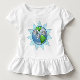 Whales for Earth Day with Starburst Toddler T-shirt
