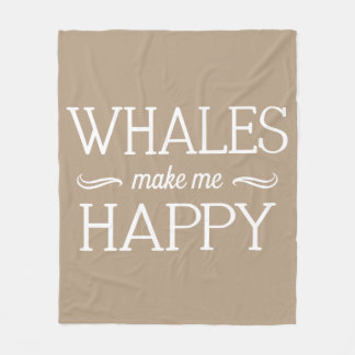 Whales Happy Blanket - Assorted Sizes & Colors