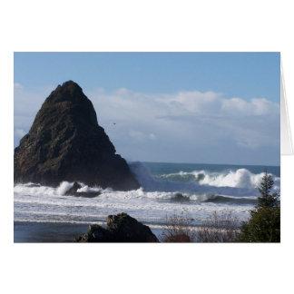 Whales Head Rock Card