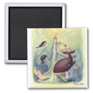 Whales In The Wash Magnet