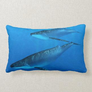Whales Lumbar Pillow