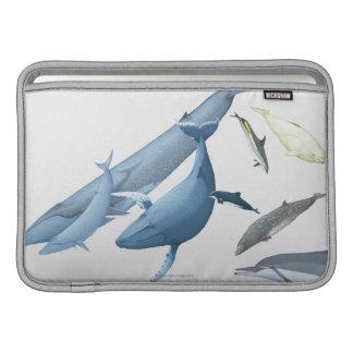 Whales MacBook Sleeve
