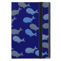 whales patterns case for iPad mini