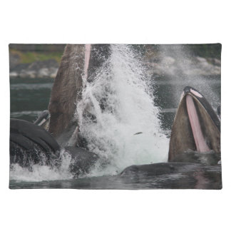 whales placemat