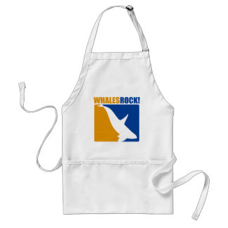 Whales Rock Aprons