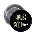 Whales Rock! Button