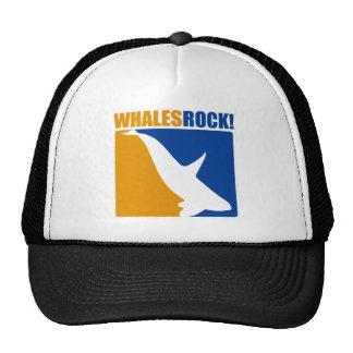 Whales Rock! Hat