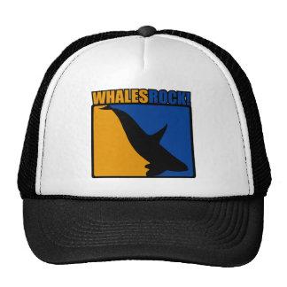 Whales Rock! Trucker Hats