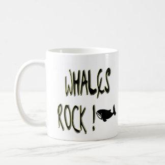 Whales Rock! Mug