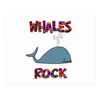 Whales Rock Postcard