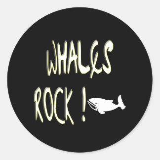 Whales Rock! Sticker