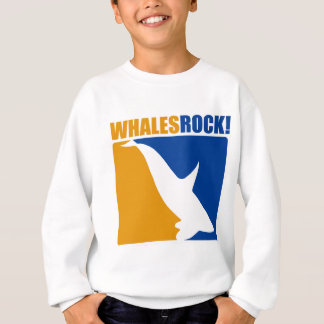 Whales Rock! Sweatshirt
