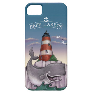 WHALE'S SAFE HARBOR iPhone SE/5/5s CASE