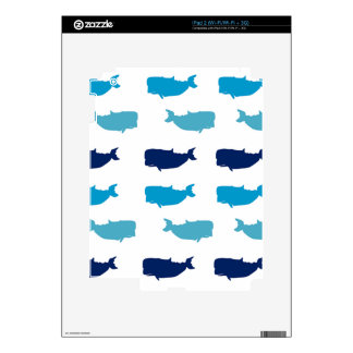 Whales Skin For The iPad 2