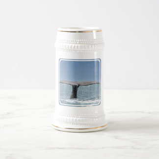 Whale's Tail  Beer Stein 18 Oz Beer Stein