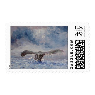 Whales Tail Stamp
