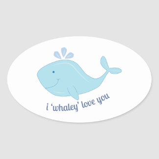 Whaley Love You Sticker