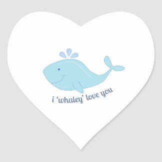 Whaley Love You Stickers