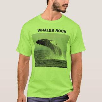 whaleza,                WHALES ROCK, WHALES ROCK T-Shirt