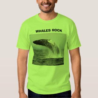 whaleza,                WHALES ROCK, WHALES ROCK Tee Shirt