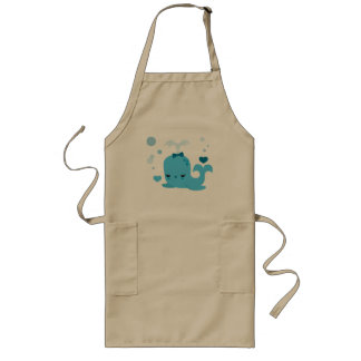 Whalin' Out Long Apron