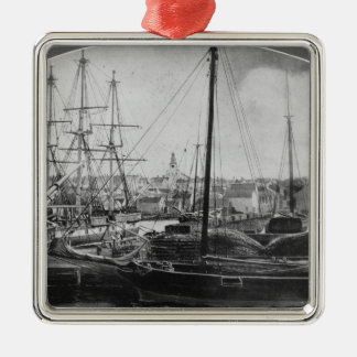 Whaling Port, New Bedford Metal Ornament