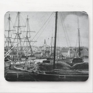 Whaling Port, New Bedford Mouse Pad