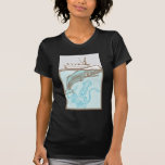 Whaling with Squid Tee Shirt