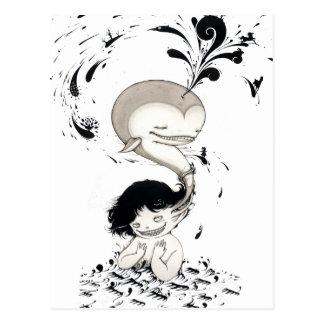 """Whalless"" Yan Wei | 闫威 Postcard"