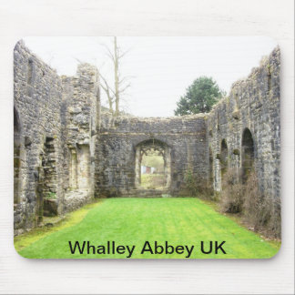 Whalley Abbey in England Mouse Pad