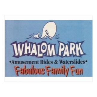 Whalom Park Amusement Park (Lunenburg, MA) Postcard