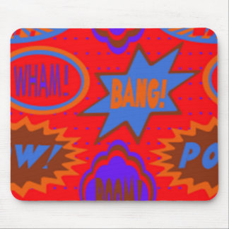 Wham Bam & Boom Products & Giftware - Games Mouse Pad