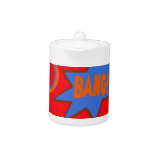 Wham Bam & Boom Products & Giftware - Games Teapot