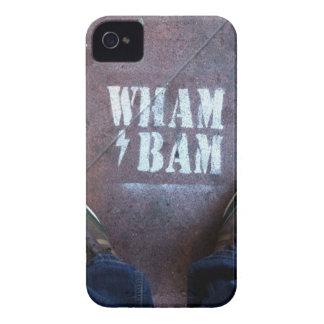 Wham Bam Thank You Ma'am iPhone 4 Case-Mate Case
