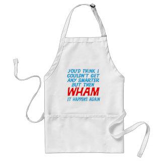 Wham conseguí un delantal más elegante