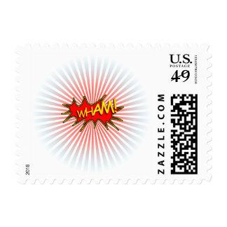 Wham explosion. postage