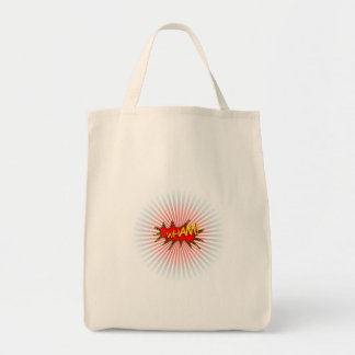 Wham explosion tote bag
