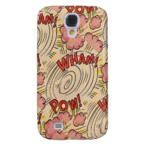 Wham! Pow! Samsung S4 Barely There Case
