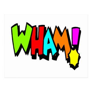 ¡Wham! Tarjetas Postales