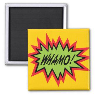 WHAMO! magnet
