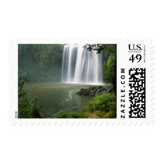 Whangarei Falls, Whangarei, Northland, New Postage Stamp