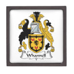 Whannell Family Crest Premium Jewelry Box
