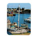 Wharf Bermudas de rey Imanes